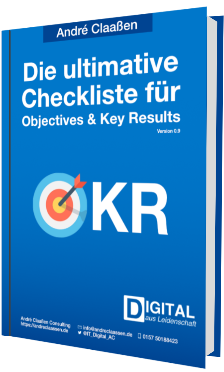 Die ultimative Checkliste zu Objectives & Key Results